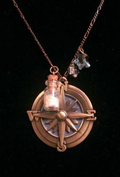 Faith, trust, and pixie dust!... Neverland/Peter and the Starcatcher inspired necklace