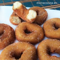 You searched for Rosquillas - Divina Cocina Donut Recipes, Mexican Food Recipes, Sweet Recipes, Dessert Recipes, Cooking Recipes, Spanish Desserts, Spanish Dishes, Venezuelan Food, Dinner Bread