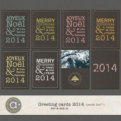 Holiday Greeting Cards 2014