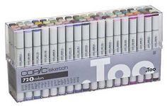Copic-Sketch-Marker-Set-72-Pens-Set-E