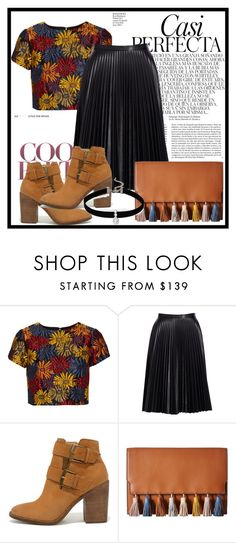 """""""Fall Is Here"""" by annedenmark on Polyvore featuring Alice + Olivia, Cusp by Neiman Marcus, Steve Madden, Rebecca Minkoff, Loren Olivia and Whiteley"""
