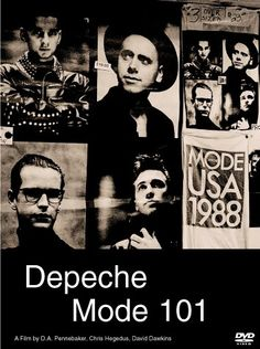 Depeche Mode 101. one of my favorite bands during the 80's. and a group of fans with awesome fashion sense. gotta love it. a classic!
