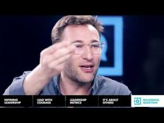 Simon Sinek - Millennials in the Workplace - YouTube - NOT just for Millennials!!! Too many of every generation suffer some aspect of these. Seriously. This video could possibly change your life, & surely inspire your day. WISDOM