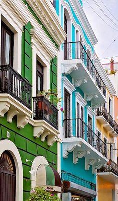 Viejo San Juan en Puerto Rico