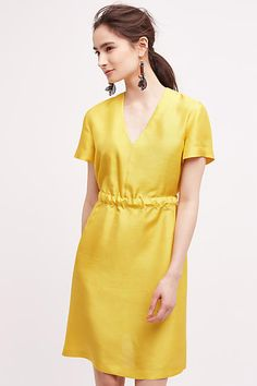 Erika Cavallini Etoile Shift Dress #yellow