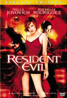 Resident Evil LOVE this series! most times I HATE scary movies but I love this!