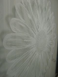 glass etched with a dremel...beautiful