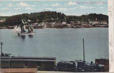 Frankfort Michigan, Lake Michigan, Great Lakes Ships, Wood Fuel, Detroit History, Harbor View, Ann Arbor, Trains, Yard
