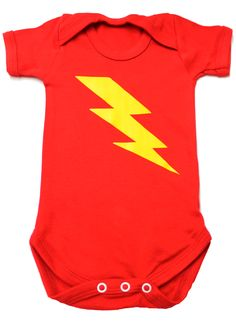 Cool-Baby-Clothes-Cool-Baby-Vest-Baby-Grow-Lightning-Bolt-Awesome-Funky-Baby-Vest #pinhonest