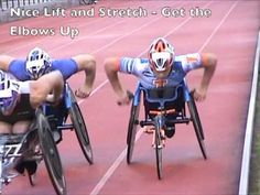 Wheelchair Racing Video in Slow Motion - YouTube