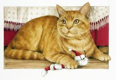 Прекрасные кошки английской художницы Debby Faulkner-Stevens. Обсуждение на LiveInternet - Российский Сервис Онлайн-Дневников