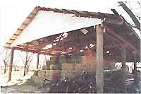 This�simple animal shelter, a versatile pole barn�building for livestock animals, such as cows, sheep, goats, pigs�or poultry,�or livestock feed can be constructed in a few weeks. The article includes layout, materials and cost list, diagrams, stringers and trusses. Originally published as