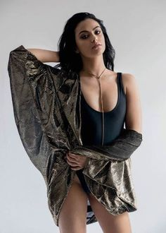 Camila Mendes in a photoshoot for Da Man Magazine in February 2017...