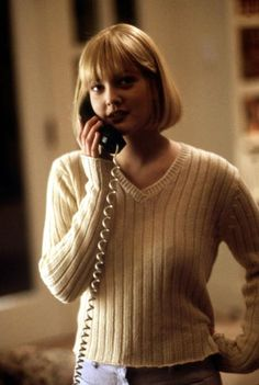 Drew Barrymore as Casey in Scream. She is one of the biggest reasons Wes finally agreed to direct Scream (originally titled 'Scary Movie') THANK YOU DREW!! :)