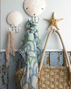 sanddollar and starfish hooks