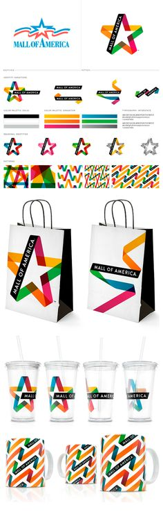 """Mall of America"" rebranding by Duffy & Partners nice bag!please check out our website.http://bax.fi"