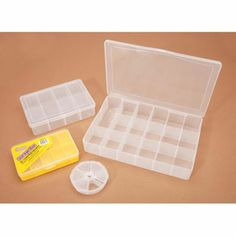 Organizer Pack-Clear Plastic-Asst Sizes-Value Pack