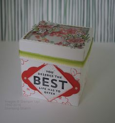 Stamping Shanni: Thinking Outside the Box - Box and Lid with Window