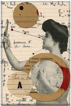~Angelica Paez,geçmişten ilham alan kolajlar. http://www.mozzarte.com/sanat/angelica-paezgecmisten-ilham-alan-kolajlar/