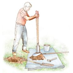 Dig postholes faster and easier and position them more accurately using this step-by-step guide. It includes many labor-saving tips.