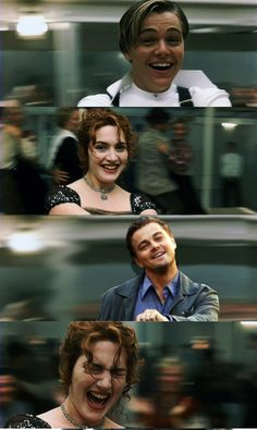anything with Kate Winslet and Leonardo DiCaprio makes me laugh