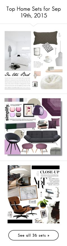 """Top Home Sets for Sep 19th, 2015"" by polyvore ❤ liked on Polyvore featuring interior, interiors, interior design, home, home decor, interior decorating, Artek, H&M, Dot & Bo and iittala"