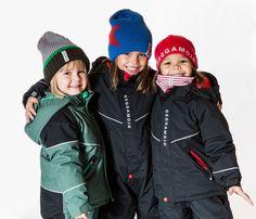 Ropa de esquí para niños de Geggamoja. Suecia