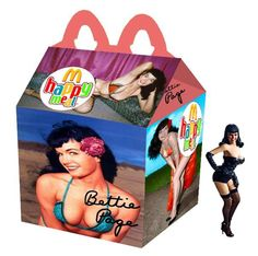 """Bettie Page"" Happy Meal"