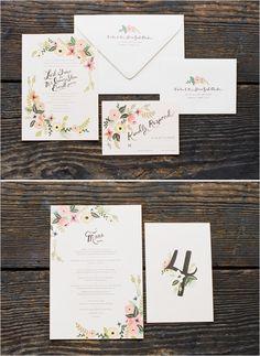 Love these wedding invitations