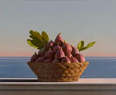 David Ligare   Still Life With Figs