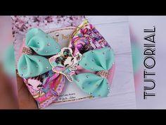 Bow Tutorial, Cute Crafts, Grosgrain, Hair Bows, Bb, Kids, Handmade, Accessories, Youtube