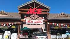 Ace Hardware Bend Oregon (South End) Bend, Ace Hardware, Christmas Ornaments, Holiday Decor, Christmas Jewelry, Christmas Decorations, Christmas Decor