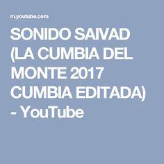 SONIDO SAIVAD (LA CUMBIA DEL MONTE 2017 CUMBIA EDITADA) - YouTube