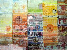 Eva Isaksen Paperfall - Vulcan Installation