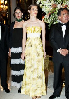 (R) Charlotte Casiraghi and her sister in-law Tatiana Santo Domingo