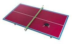 Special Edition You And Me Zuzunaga Ping Pong Table in magenta! Best Ping Pong Table, Outdoor Ping Pong Table, Portable Table, Metal Side Table, Grey Table, Wallpaper Magazine, Conference Table, Table Games, Designer Wallpaper