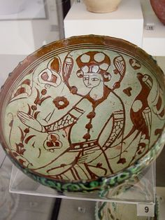 #Ceramic bowl, #Museum of Archeology, #Antakya, #Turkey . This bowl is at the top of my list for lovely objects.  I adore the drawing - a fine piece of art....