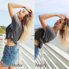 """SOCIAL MEDIA VS. REALITY 