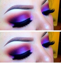 It's way to bold for me but I love the look and color