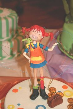 A Pippi Longstocking cake!