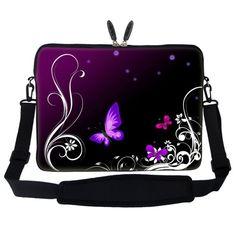 Meffort Inc 15 15.6 inch Neoprene Laptop Sleeve Bag Carry…