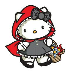 Hello Kitty Red Riding Hood