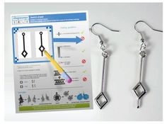 Draw your own earrings by byShapeways