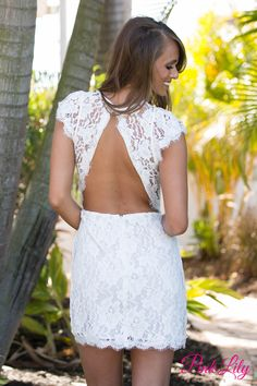Forever Divine Lace Dress CLEARANCE - The Pink Lily