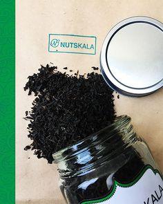 NUTSKALA BLACK TEA Wholesale Nuts, How To Dry Basil, Herbs, Tea, Fruit, Black, Black People, Herb, Teas