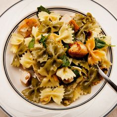 Chicken of the Week: Fast Pasta with Chicken and Walnuts   Shine Food - Yahoo! Shine