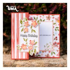 Pop Up Cards, Cool Cards, Youre A Peach, Fancy Fold Cards, Beautiful Handmade Cards, Stamping Up Cards, Card Making Inspiration, Handmade Birthday Cards, Paper Cards