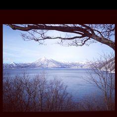 千歳、支笏湖    Lake shikothu,chitose,Hokkaido.