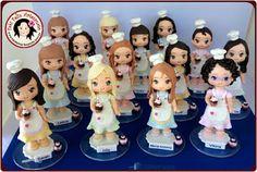 Fabi Felix Artesanato: Bonequinhas confeiteiras