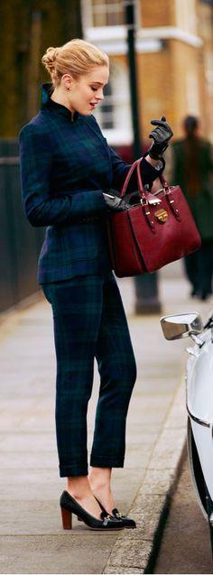⊰✿ tartan & plaid  .. X ღɱɧღ  || lovely suiting
